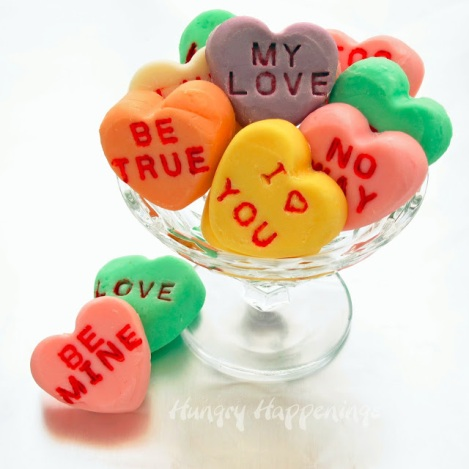 DIY Candy Hearts