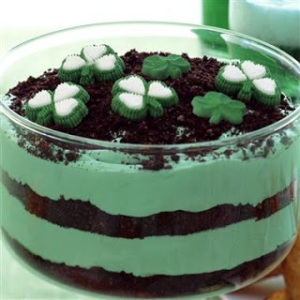 green pudding